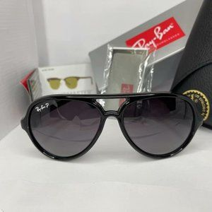 Ray-Ban CATS 5000 Gloss Black Frame Gray